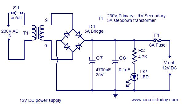 2 X 22 Watt Stereo Amplifier Circuit Using Ic Tda 1554
