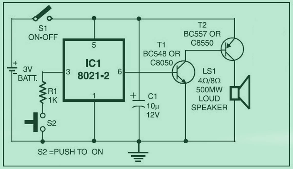 Electronic Circuits And Diagram Electronics Projects Design K I Mini Circuit Next Image