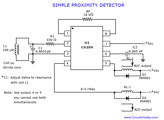 two wire proximity switch wiring diagram mag ic proximity switch wiring diagram proximity detector or sensor #13