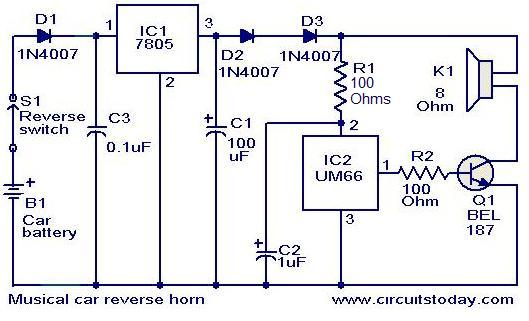 Musical Car Reverse Horn Circuit further Led Audio Vu Meter as well Simple Metronome Using Transistor also Wind Sound Generator further Tapping Morse Code Circuit. on tone generator circuit diagram