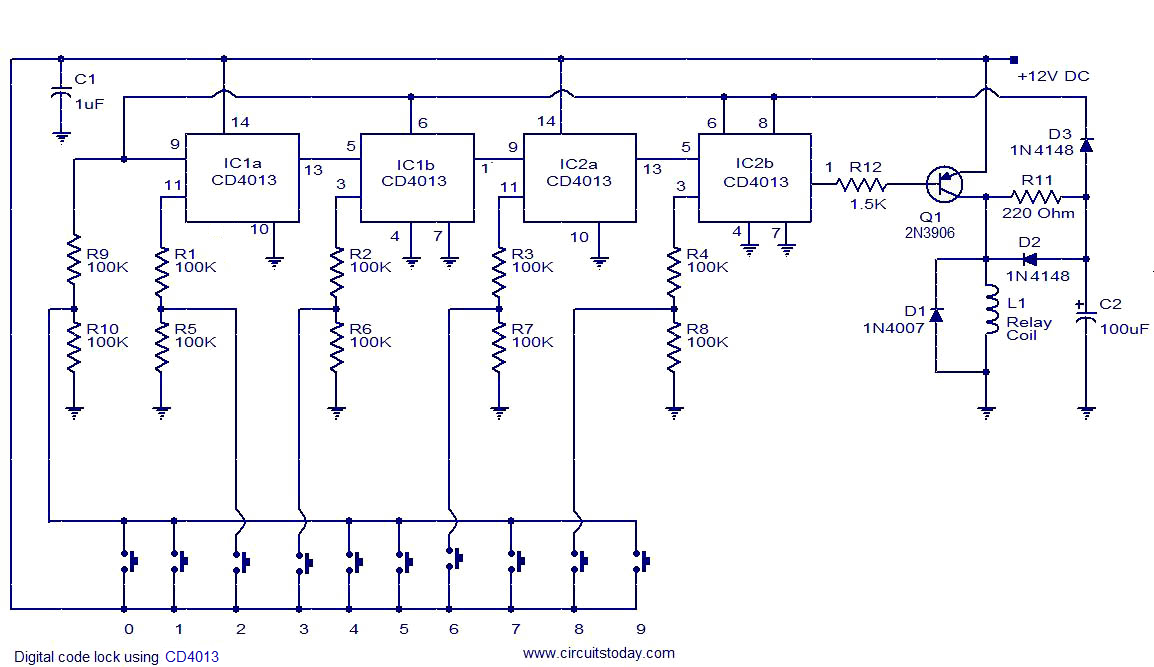 Diagram Also Electronic Circuit Schematic Diagrams On Digital