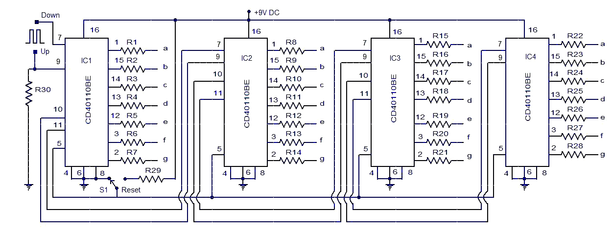 U0026gt Up Down Counter Circuit