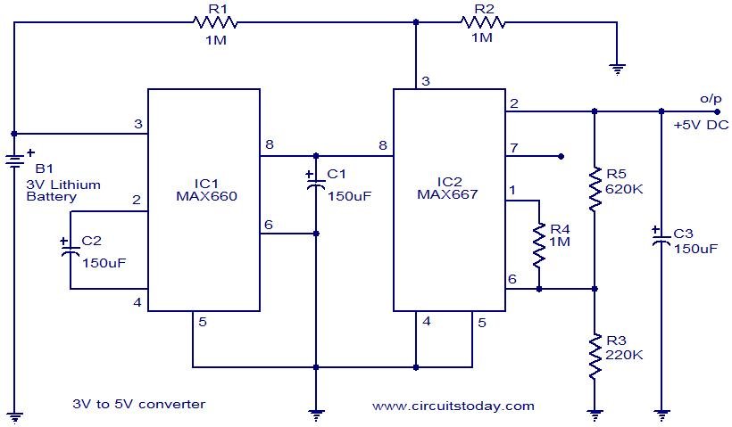 I M Yahica 3v To 12v Converter Circuit Diagram