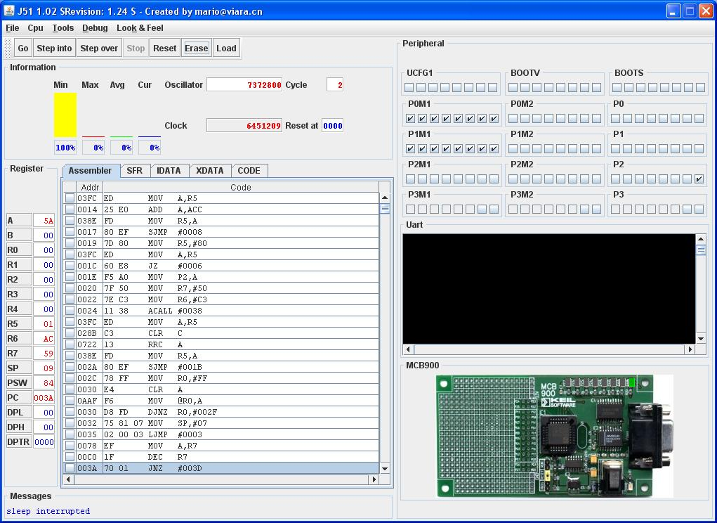 microprocessor simulator Programs for 8085 microprocessor level 2 count number of one's in a number statement: write a program to count number of l's in the contents of d register and .