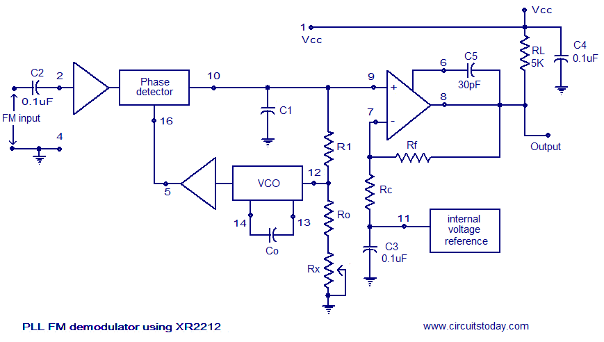Index of wp contentuploads201201 pll fm demodulator circuit xr2212g ccuart Images