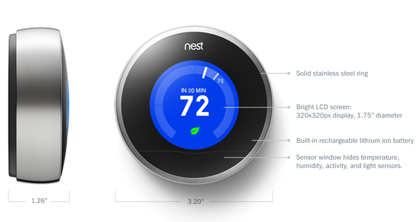 Nest Thermostat Review The 2nd Generation Self Learning