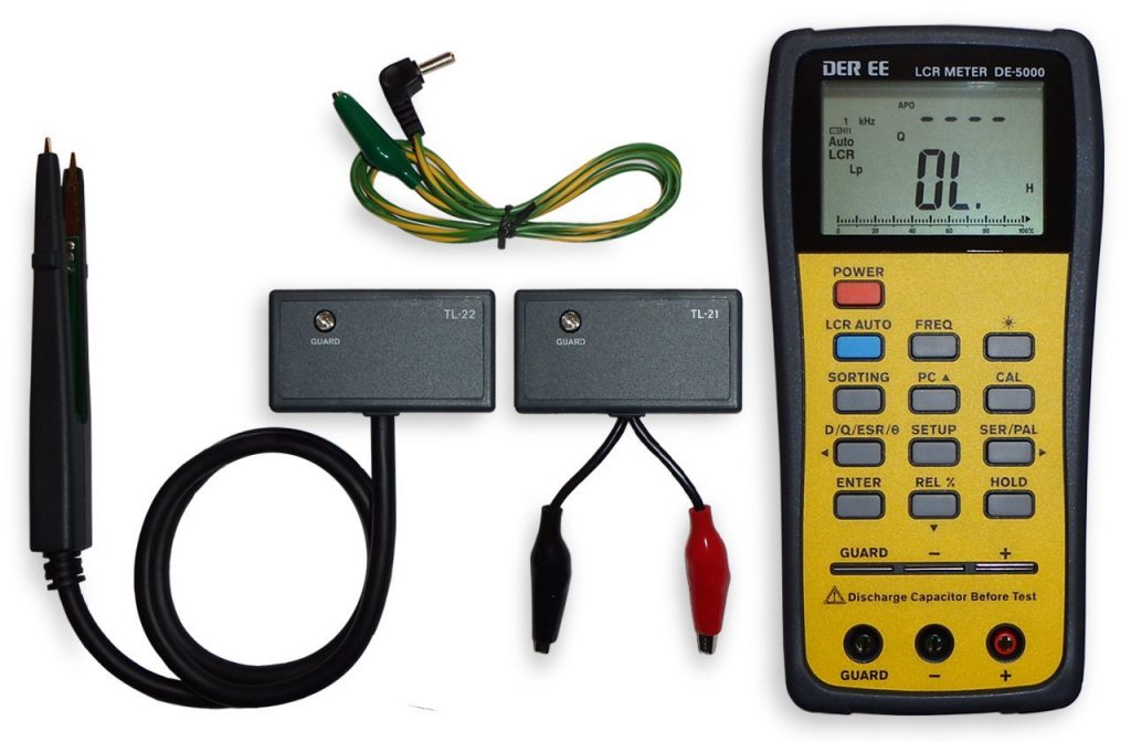 Fluke Lcr Meter Handheld : Top portable handheld lcr meters review electronic