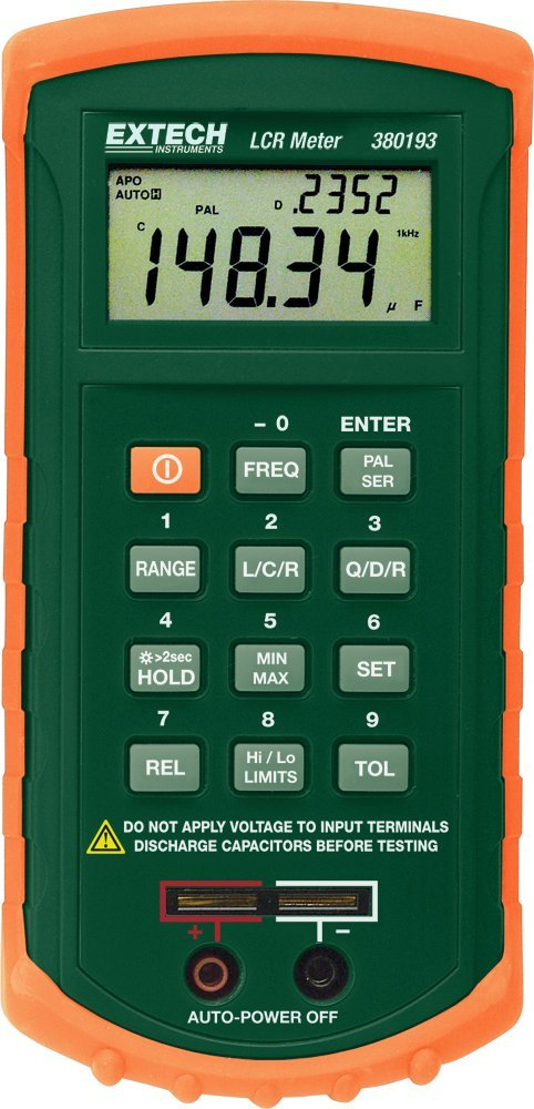 Lcr Meter Schematic : Top portable handheld lcr meters review electronic