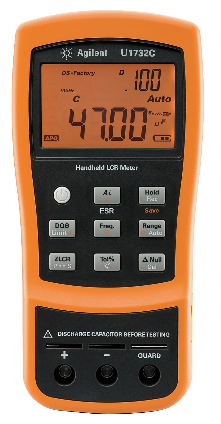 Fluke Lcr Meter Handheld : Portable lcr meter electronic circuits and diagrams